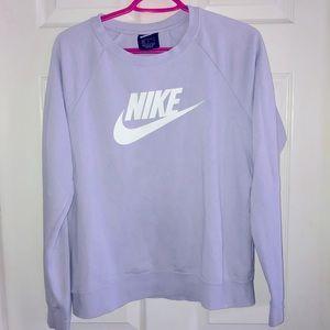 Lavender Nike crewneck